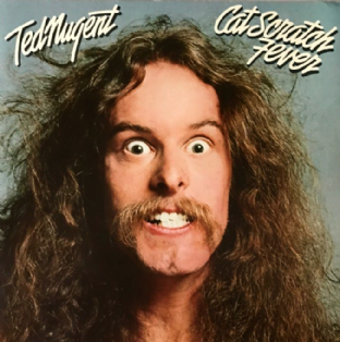 Ted Nugent - Cat Scratch Fever (LP) (EX-/EX)